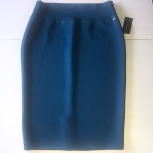 New Teal Pencil Skirt Size Medium